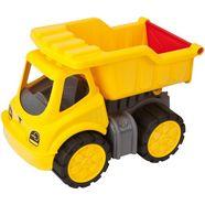 big kiepwagen met zachte banden geel
