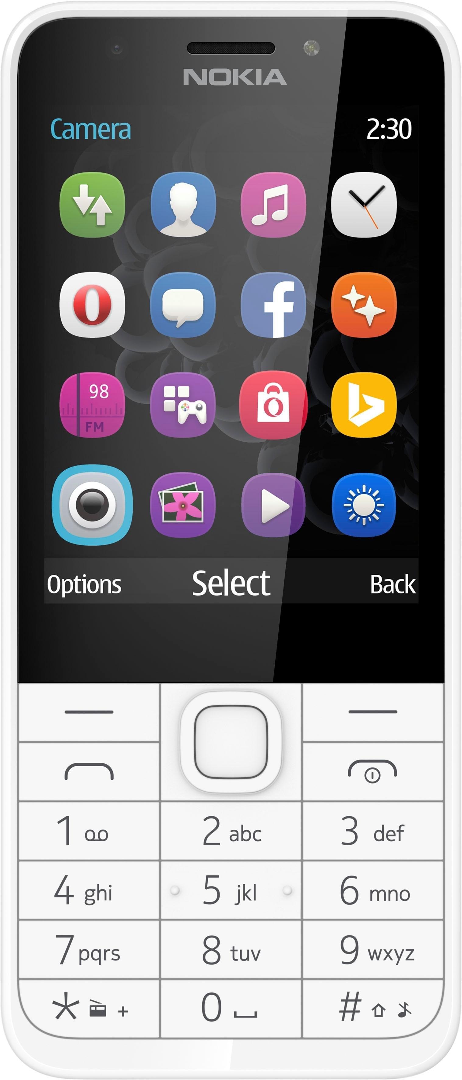 Nokia 230 gsm (7,11 cm / 2,8 inch, 2 MP-camera) voordelig en veilig online kopen