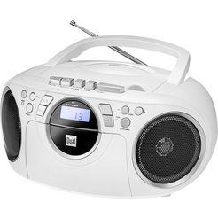 dual »p70« boombox (fm-tuner, 3 watt) wit