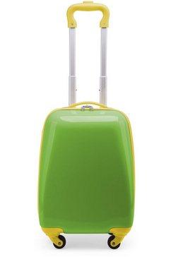 hauptstadtkoffer kinderkoffer 'for kids', 4 wieltjes groen