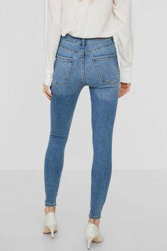 vero moda high-waistjeans »sophia« blauw