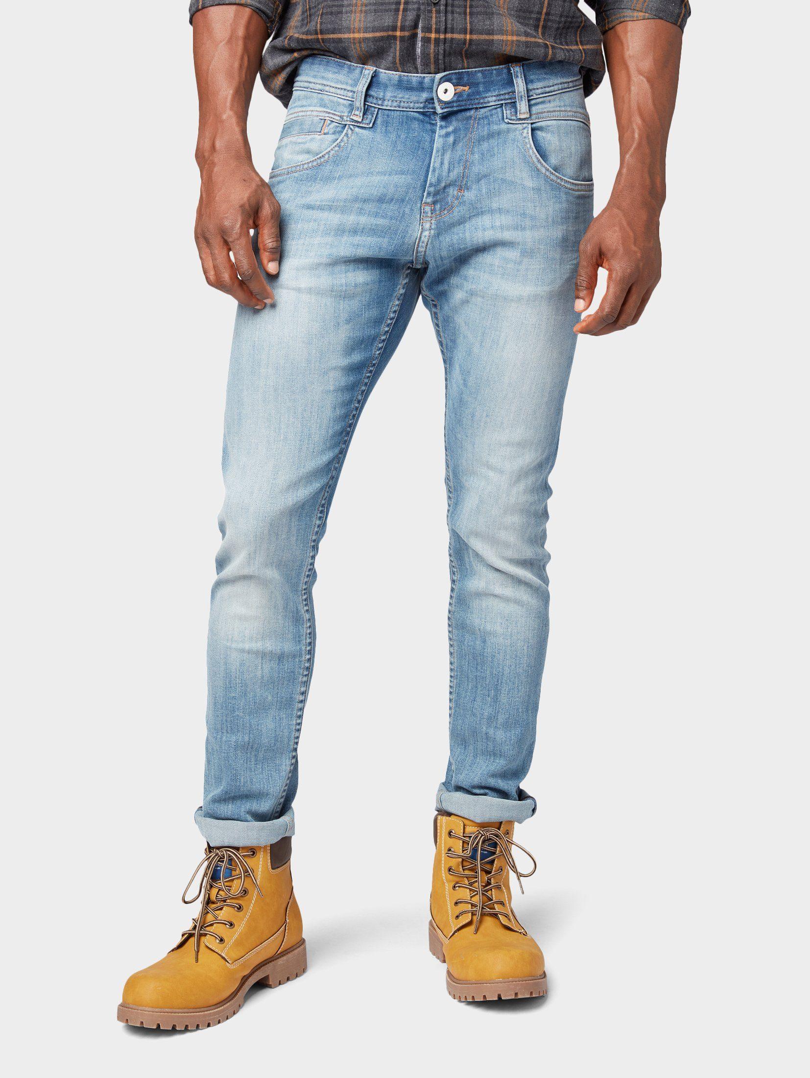 Heren jeans 5 pocket jeans »Troy Slim Jeans« Troy slim jeans