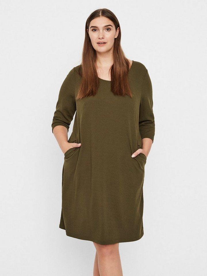Junarose jersey jurk groen