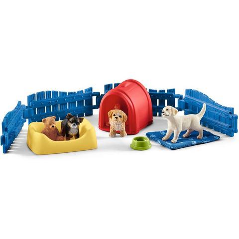 Schleich Farm World 42480 puppy huis