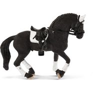 schleich speelfiguur 'horse club, friese wedstrijdhengst, 42457' zwart