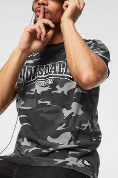 lonsdale t-shirt »cobbett« groen