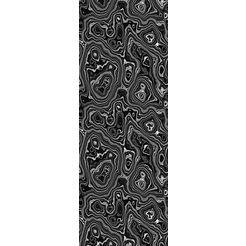 queence vinylbehang »elisabeth«, 90 x 250 cm, zelfklevend grijs