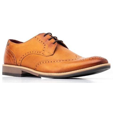 Base London schoenen met budapest-perforatie Hewit