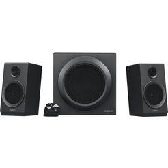 logitech »z333 multimedia« 2.1 pc-luidspreker (40 w) zwart