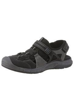 petrolio sandalen schwarz