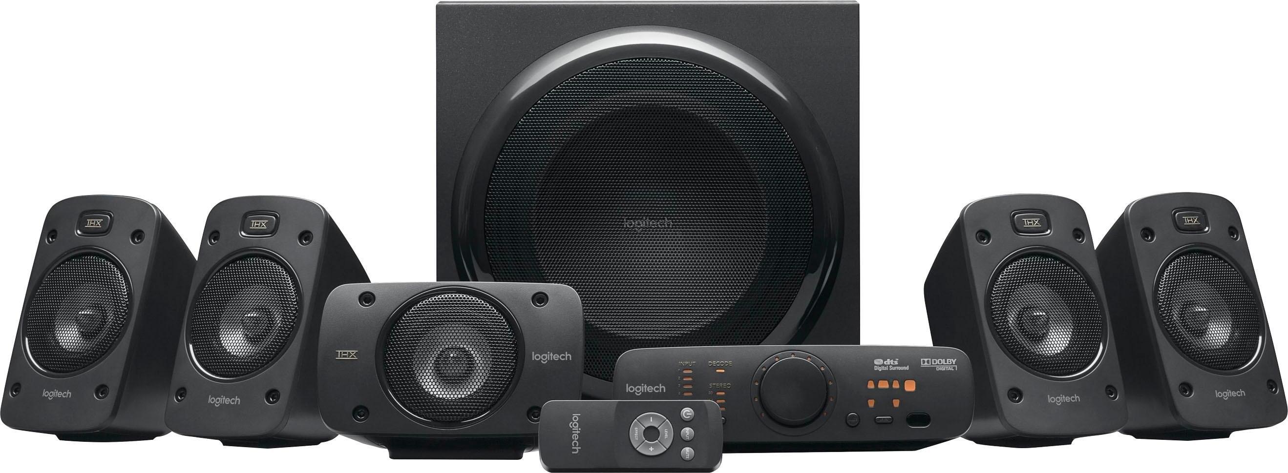 Logitech »Z906 Surround Sound« 5.1-luidsprekersysteem (500 watt) in de webshop van OTTO kopen