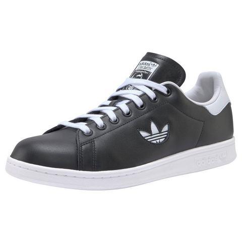 adidas originals Stan Smith leren sneakers zwart