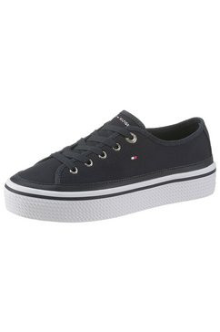 tommy hilfiger plateausneakers »kelsey idi« blauw