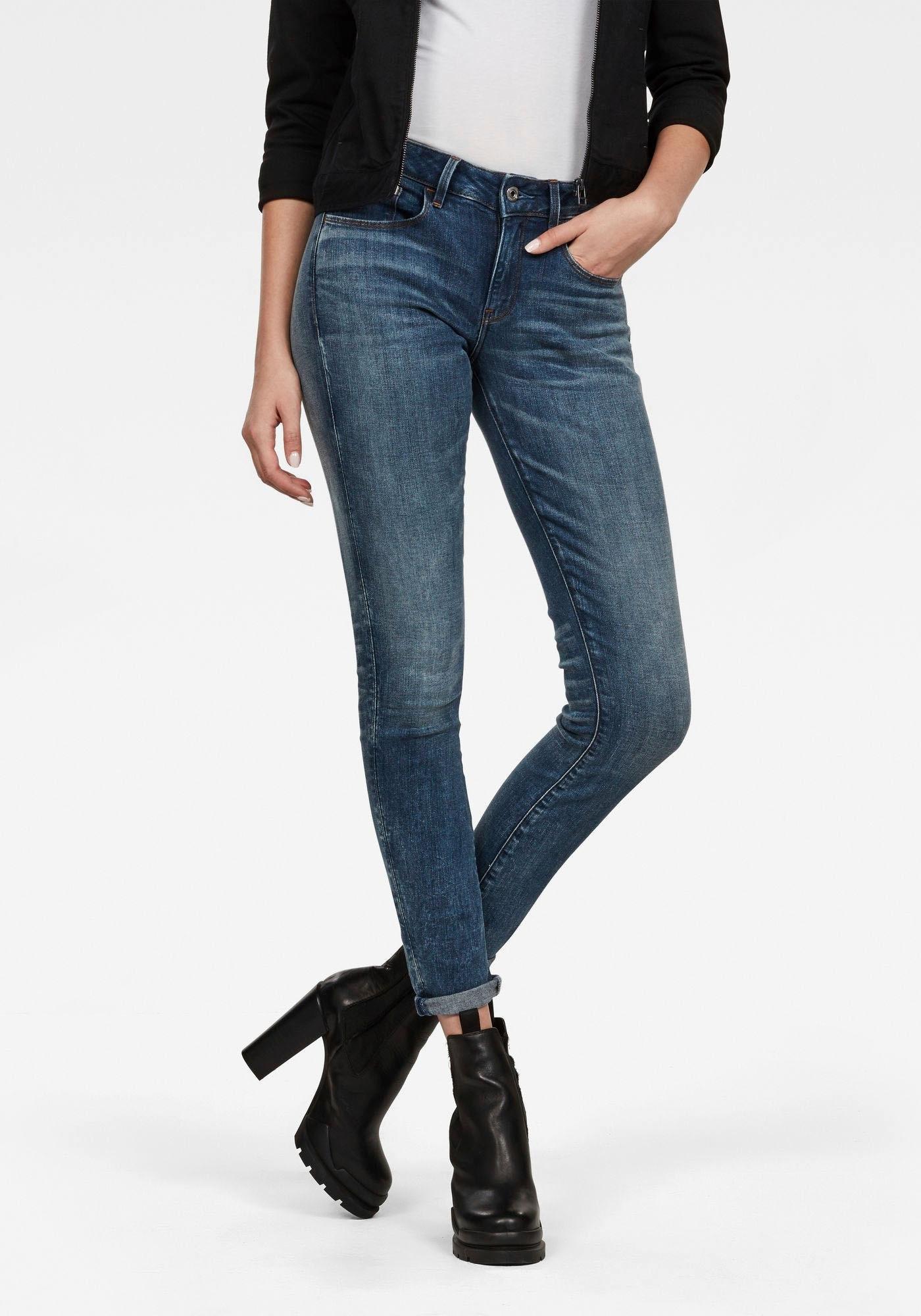 Skinny Makkelijk Jeans3301 Mid star Deconst G Raw Gevonden gbf76yY
