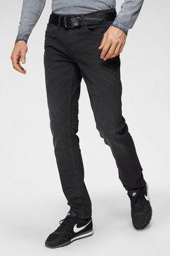 blend slim fit jeans »twister« zwart
