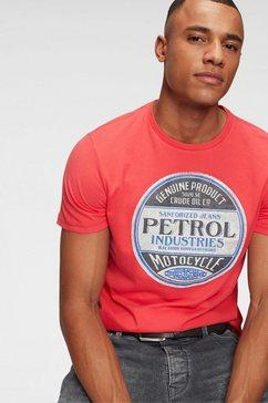 petrol industries t-shirt rood