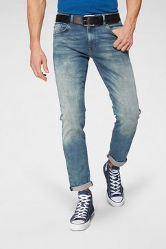 petrol industries stretch jeans »seaham« blauw