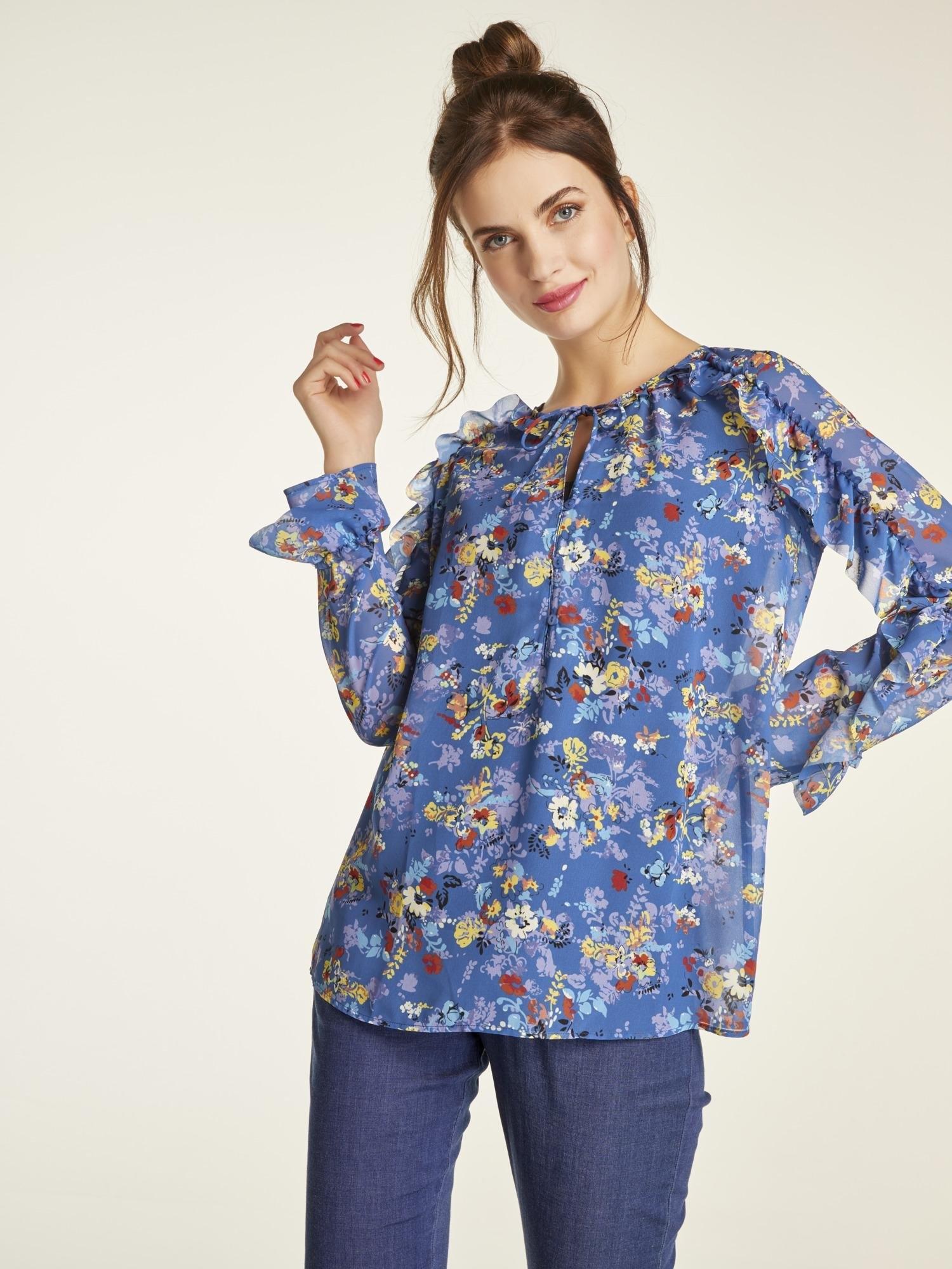 heine Gedessineerde blouse - gratis ruilen op otto.nl