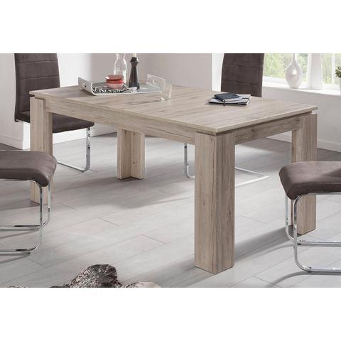 Eettafel, lengte 160-200 cm