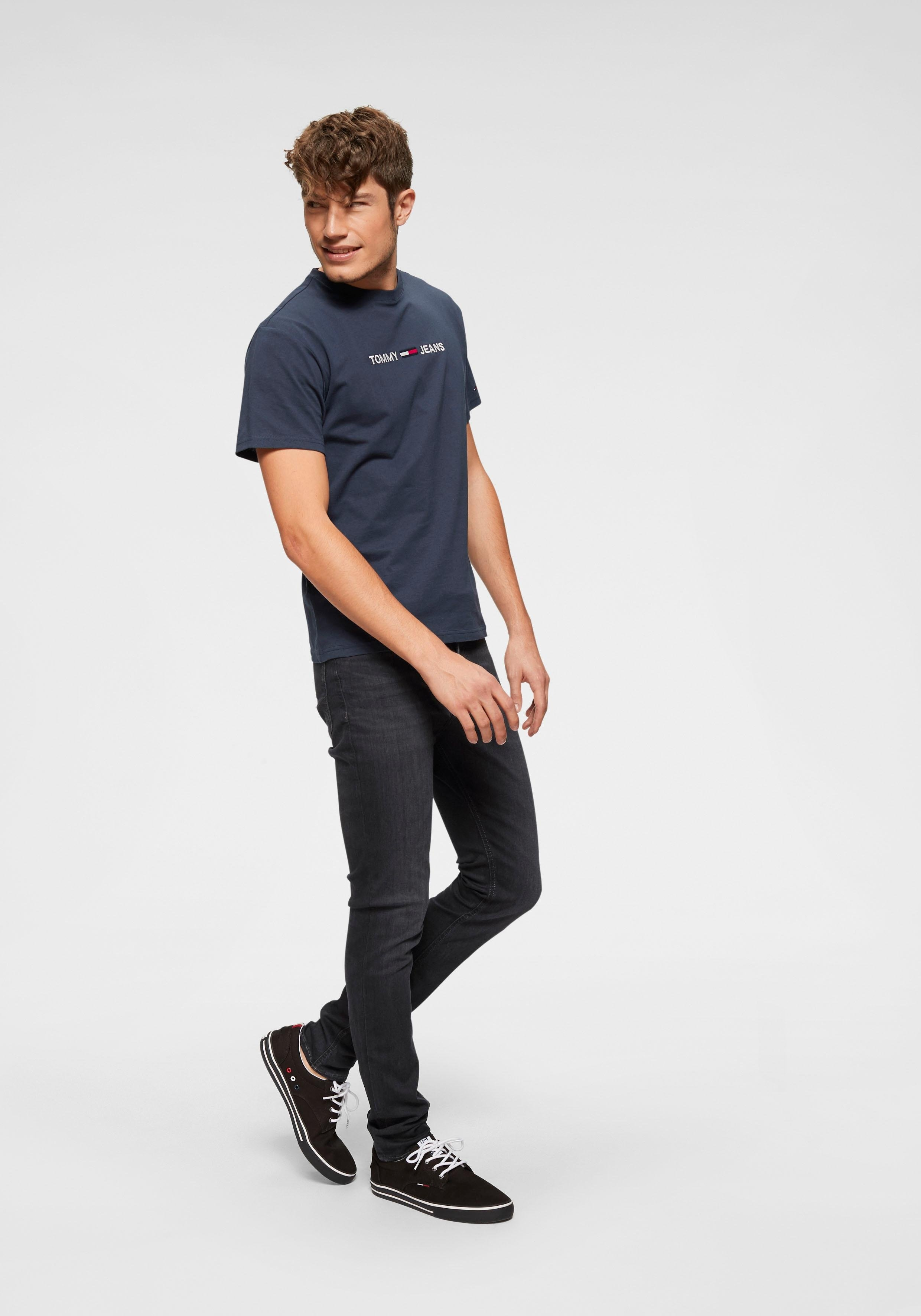 Besteld Met Tee Makkelijk Small Shirt Tommy Jeans Text Printtjm hdQrxtCs