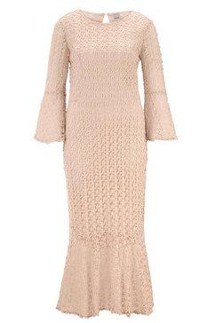 kanten jurk beige