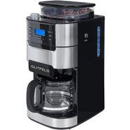 gutfels »ka 8102 swi« koffiezetapparaat met maalwerk zwart