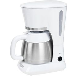 exquisit »ka 6501 we« filterkoffieapparaat wit