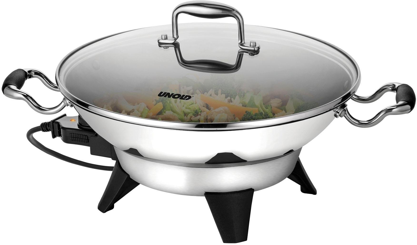 Unold elektrische wokpan Edel 48736, 1800 watt - gratis ruilen op otto.nl