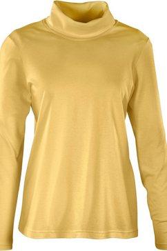 shirt met col geel