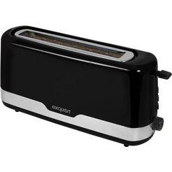 exquisit »ta 6501 swi« toaster zwart