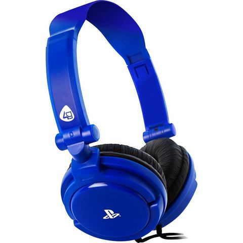 4Gamers 4Gamers PRO4-10 Stereo Gaming Headset (Blauw) PS4 (PRO4-10BLU)