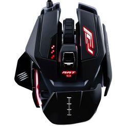 mad catz »r.a.t. s3« gaming-muis (met snoer, 7200 dpi) zwart