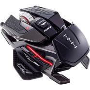 mad catz »r.a.t. x3 black« gamingmuis (met snoer, 16.000 dpi) zwart