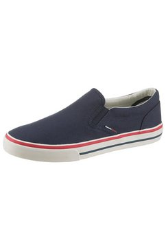 tommy jeans sneakers »vic« blauw