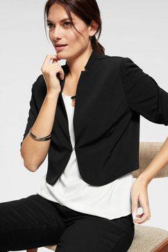 hermann lange collection korte blazer zwart