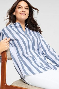 seidensticker overhemdblouse blauw