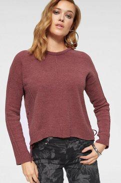 zabaione trui met ronde hals »whitney« rood