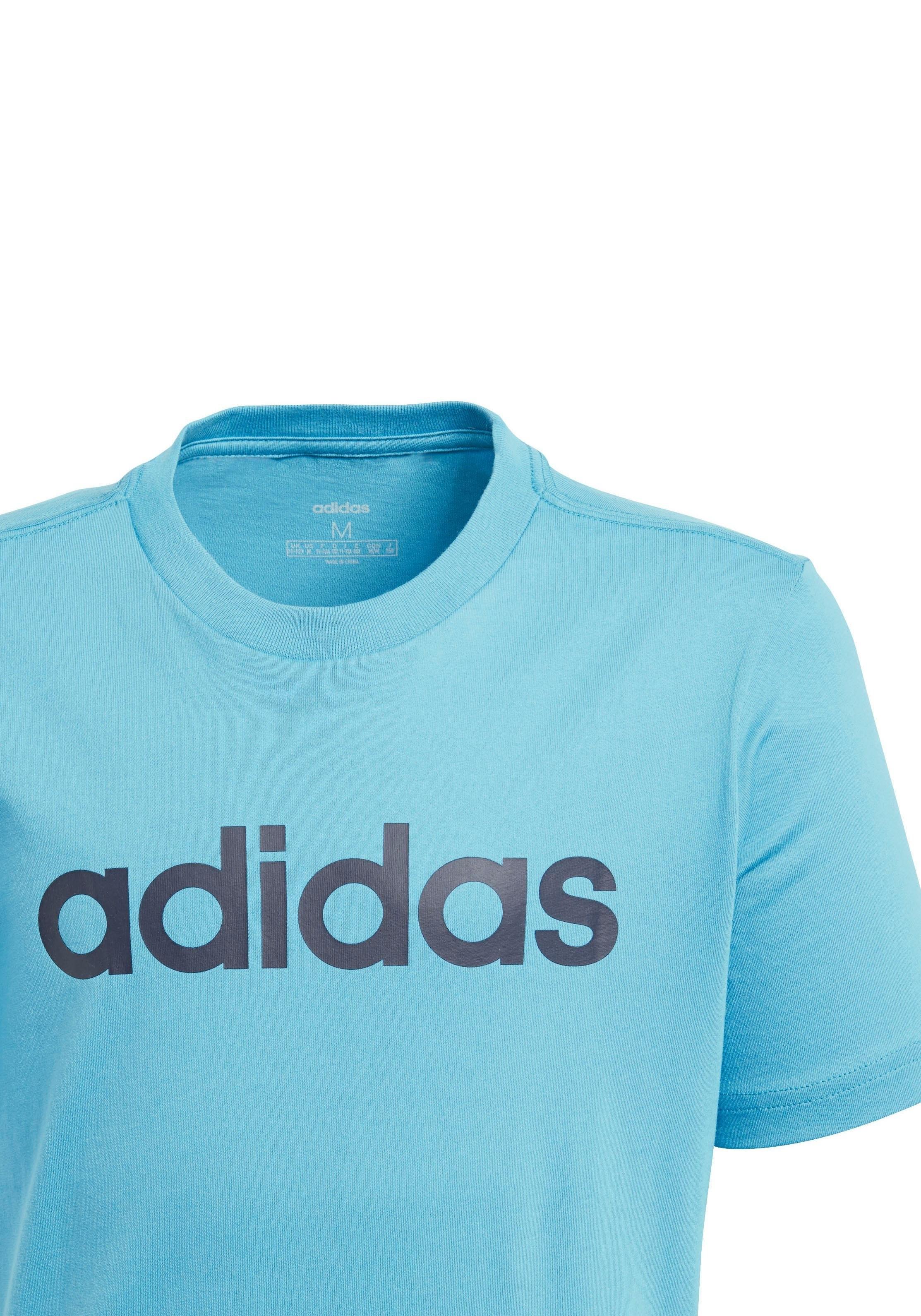 adidas Performance T-shirt »E LINEAR TEE« nu online kopen bij OTTO