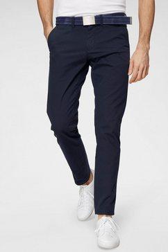 gant chino-broek blauw