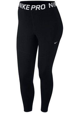 nike functionele tights »women nike performance tight plus size« schwarz