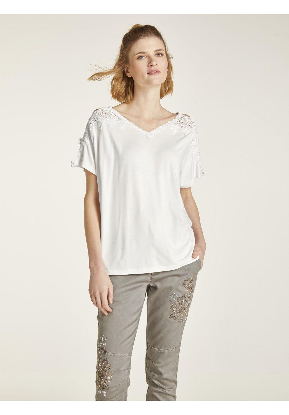 Kanten Shirt Online Verkrijgbaar Offwhite tfVFogPy