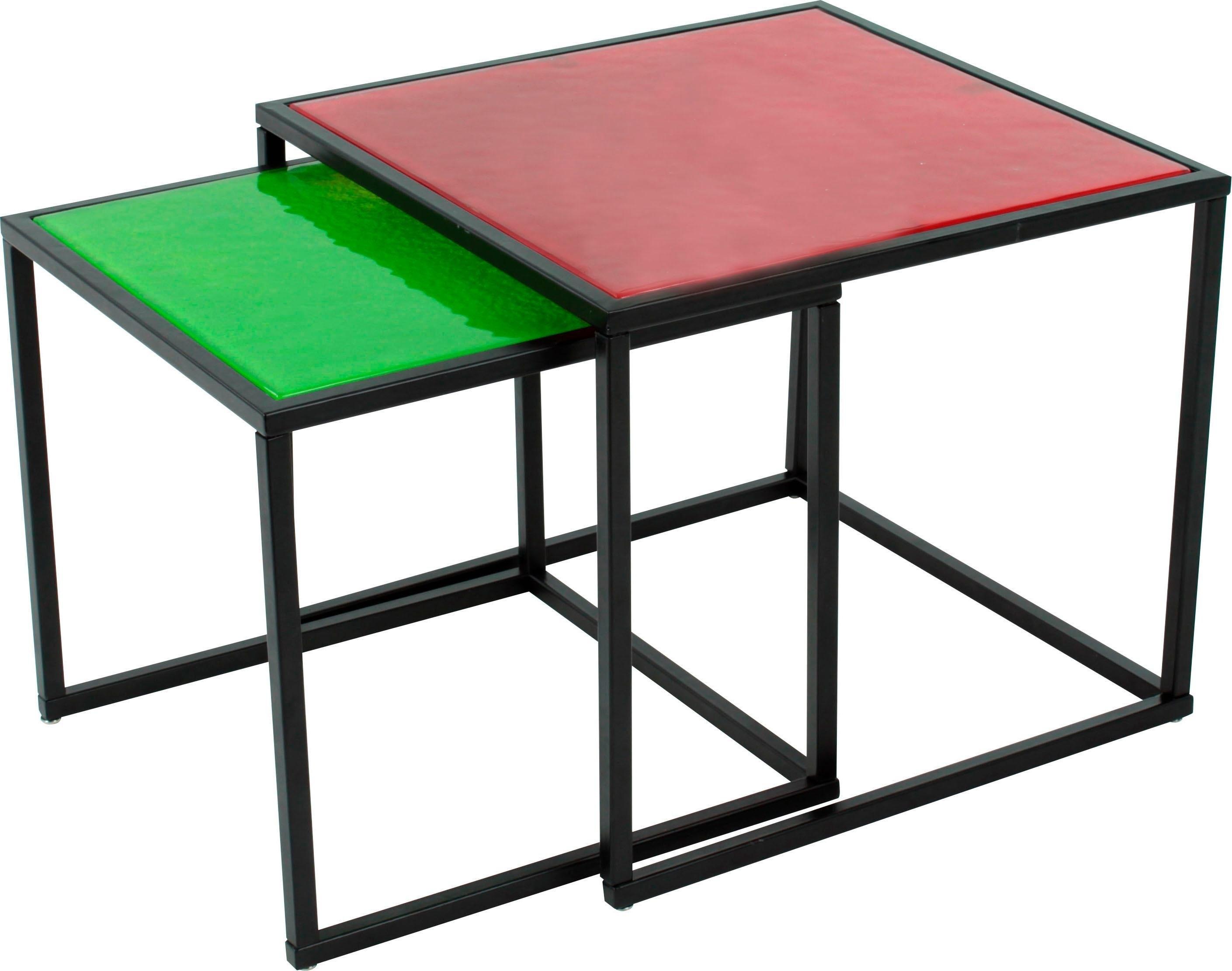 Paroli salontafel quadra (set, 2 stuks) nu online kopen bij OTTO