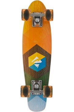 choke skateboard »woody hexagon« multicolor