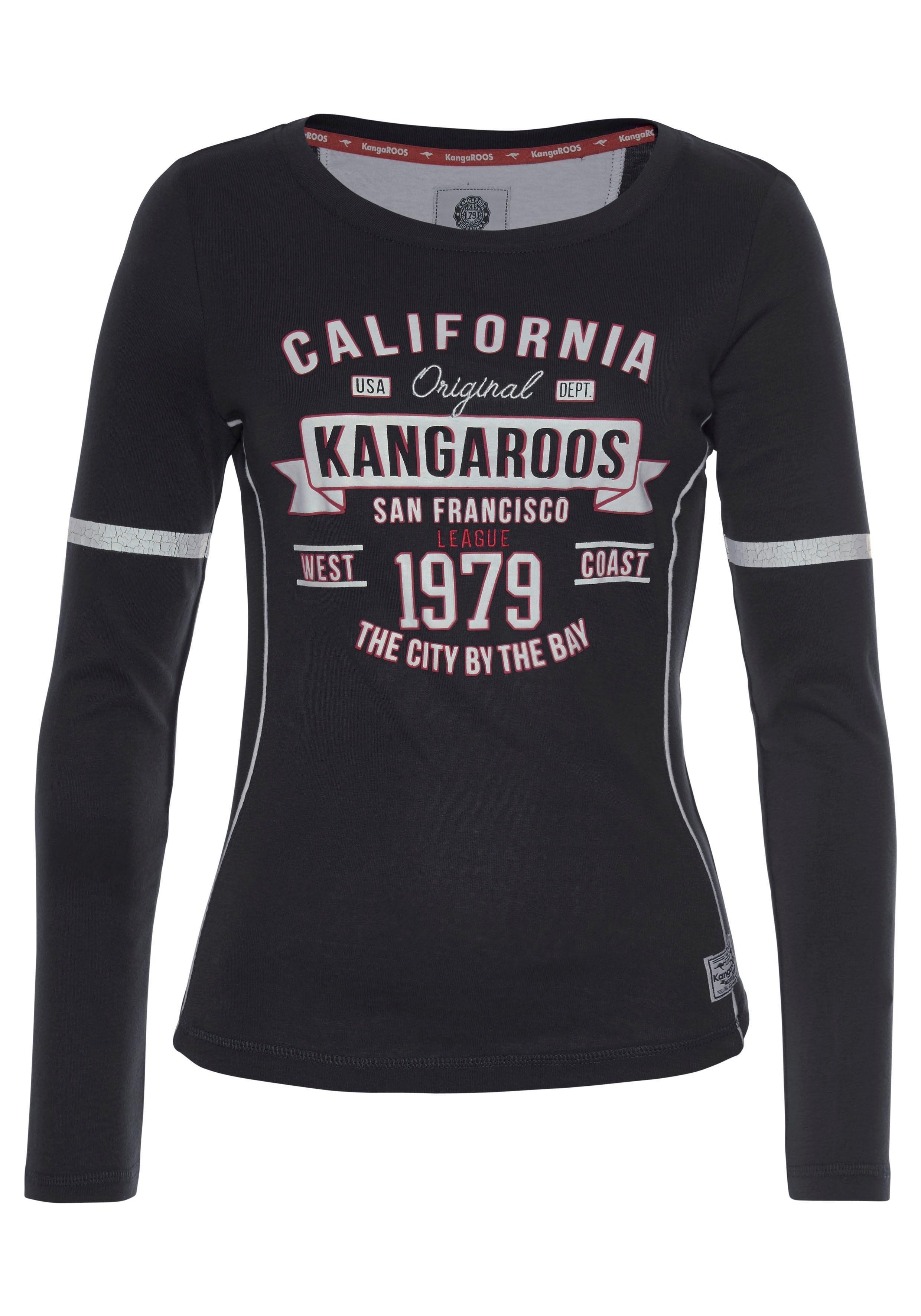 Besteld Met Kangaroos Mouwen Makkelijk Shirt Lange D9EWIH2