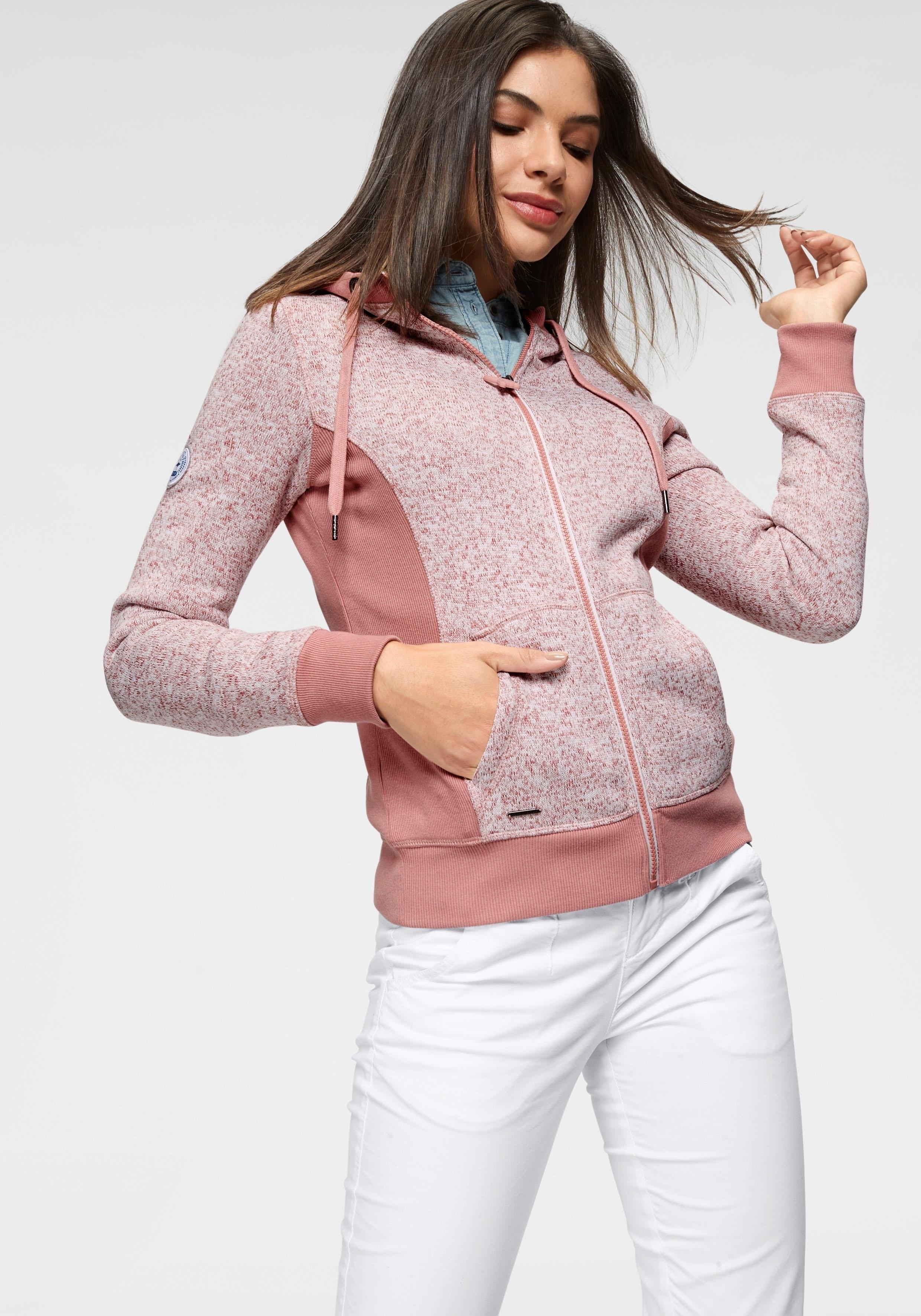 KangaROOS tricot-fleecejack in de webshop van OTTO kopen