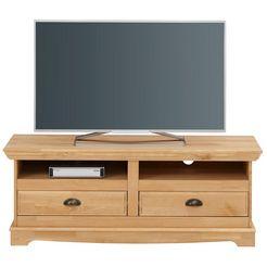 home affaire tv-meubel »eva« van massief grenen, in 2 breedten beige