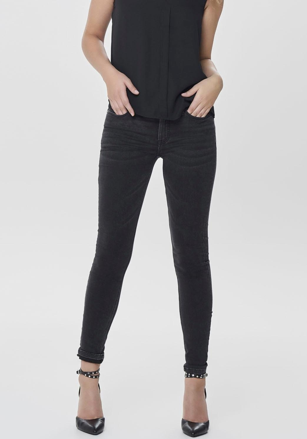 Jacqueline De Yong skinny fit jeans »JAKE« veilig op otto.nl kopen