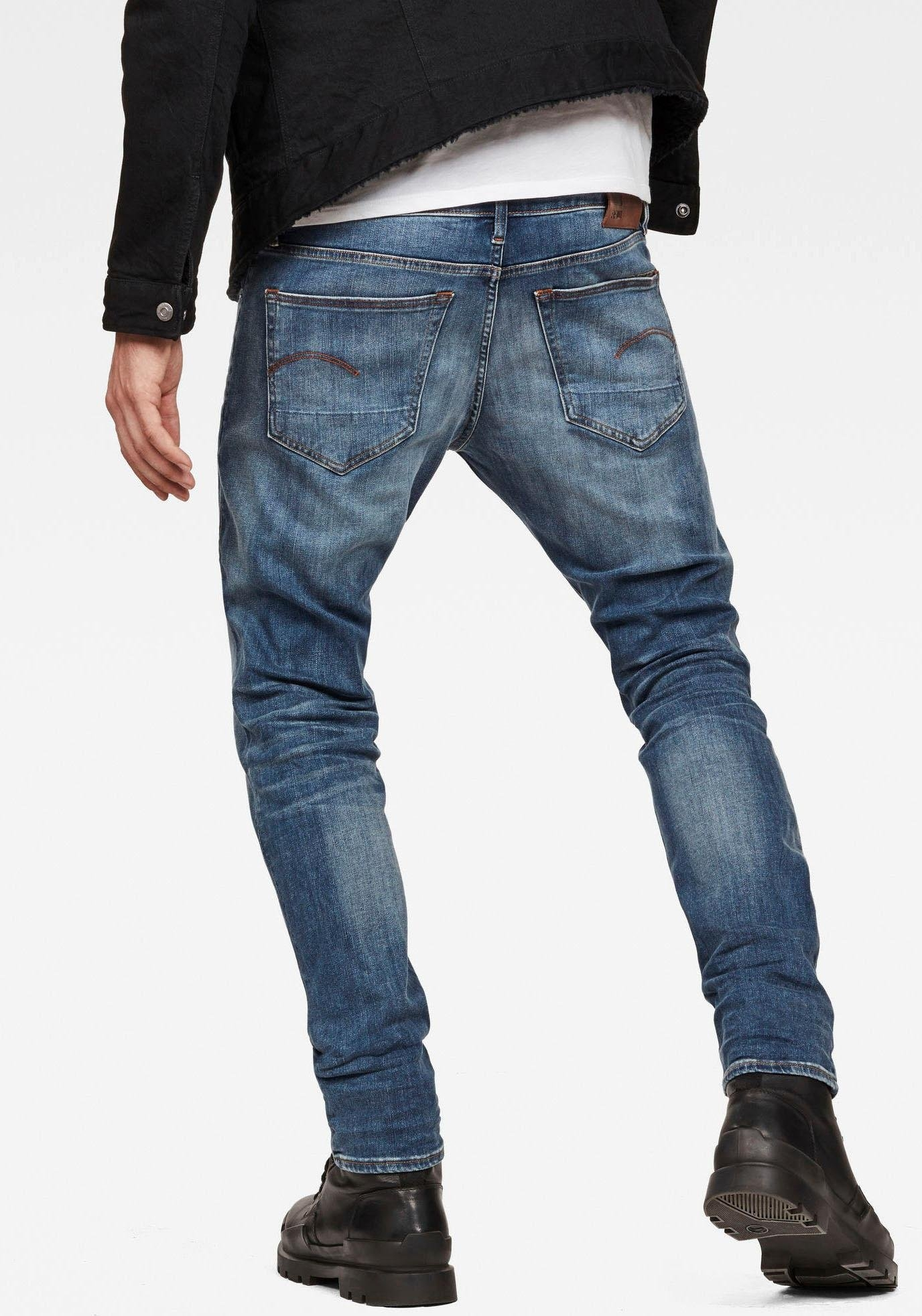 G-star Raw slim fit jeans »3301 Elto Super Stretch Denim« nu online kopen bij OTTO