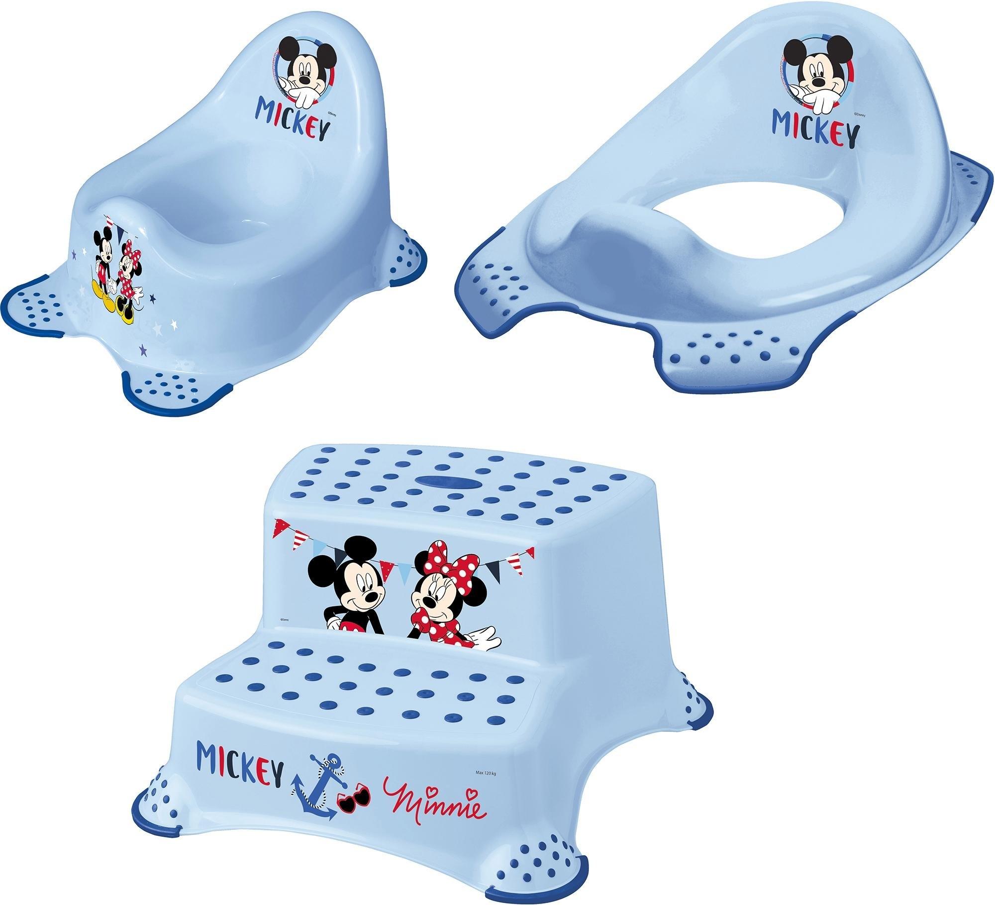 Keeeper 3-delige verzorgingsset voor kinderen - potje, toiletzitting en trapkrukje, »Mickey Mouse« bij OTTO online kopen