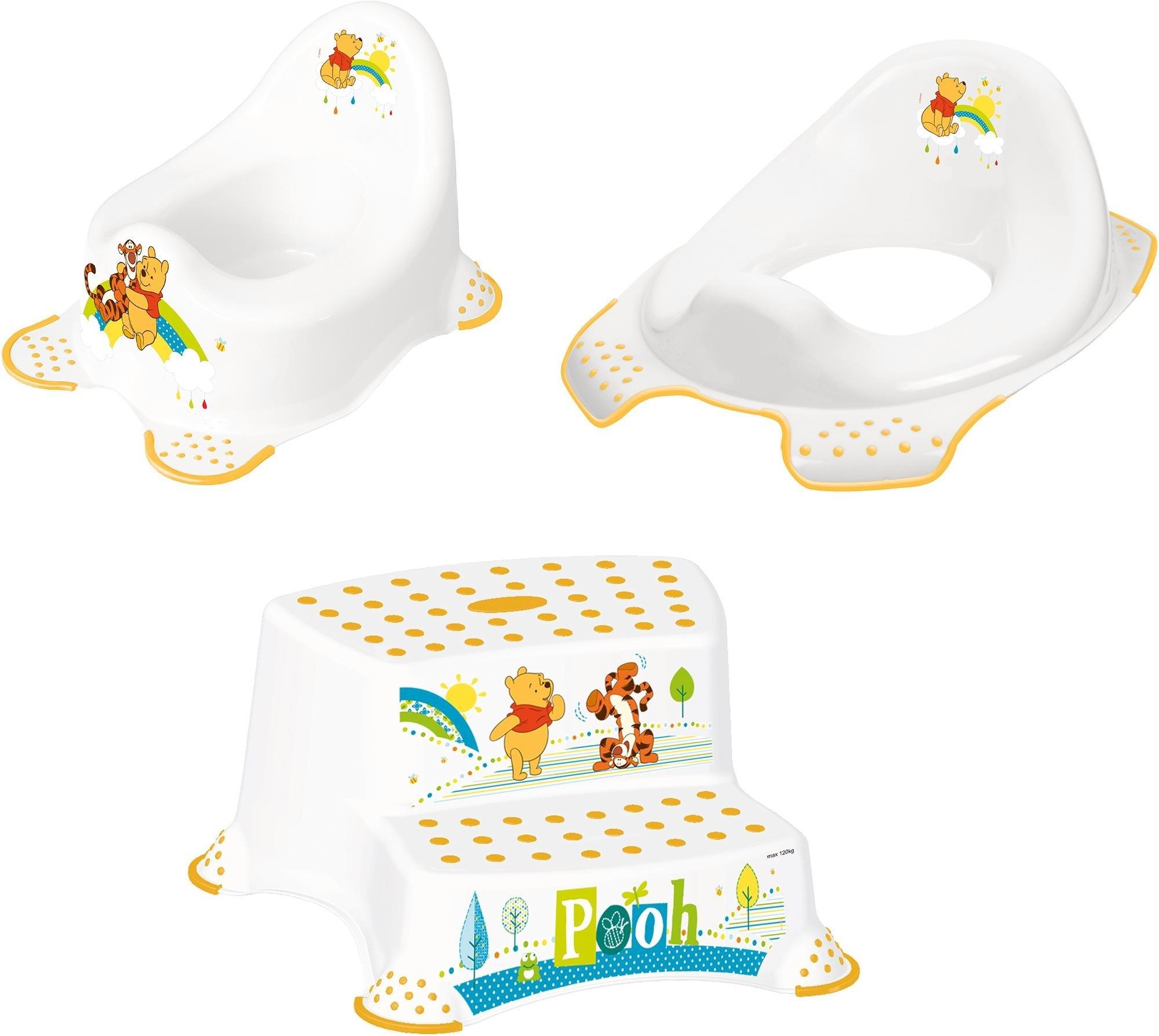 Keeeper 3-delige verzorgingsset voor kinderen: potje, toiletzitting en trapkrukje, »Winnie the Pooh« nu online kopen bij OTTO